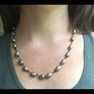 Tribal beads necklace